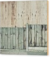 Wooden Background Wood Print