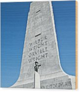 Wright Brothers National Memorial Wood Print