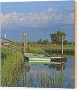 Wrightsville Beach Marsh Wood Print