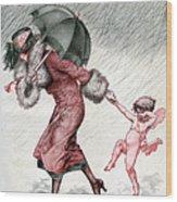 La Vie Parisienne 1924 1920s France Wood Print