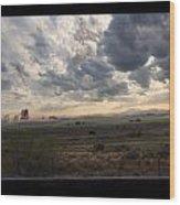 Ghost Riders In The Sky - 500050  Wood Print