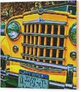 51 Jeepster Wood Print