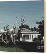 511 Home Wood Print