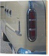 52 Packard Convertible Tail Wood Print