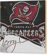 Tampa Bay Buccaneers Wood Print