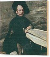 Velazquez, Diego Rodr�guez De Silva Wood Print