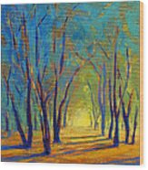 Colors Of Spring Wood Print