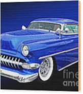53 Chevy Wood Print