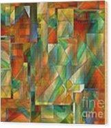 53 Doors Wood Print