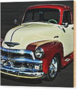 '54 Chevy Truck Wood Print