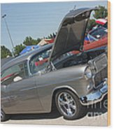 55 Bel Air-8206 Wood Print