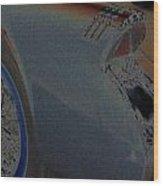 55 Buick Skylark Wood Print
