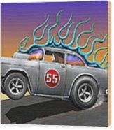 '55 Chevy Wood Print