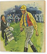 1930s,uk,the Passing Show,magazine Cover Wood Print