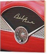 '56 Bel Air Wood Print