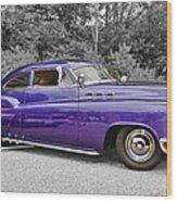 56 Buick Wood Print
