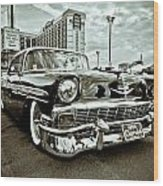 56 Chevy Wood Print by Merrick Imagery