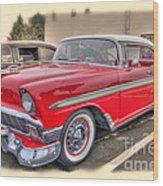 56 Classic Chevy Wood Print