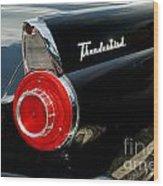 56 Ford Thunderbird Wood Print