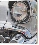 57 Bel Air Bugeye Wood Print