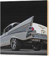 '57 Bel Air Wood Print