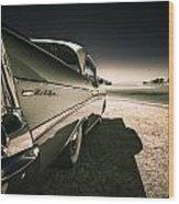 57 Chevrolet Bel Air Wood Print