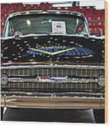 '57 Chevy Bel Air Show Car Wood Print