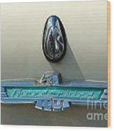 57 Ford Thunderbird  Wood Print