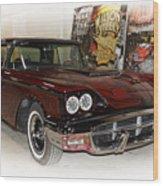 '57 Thunderbird Wood Print