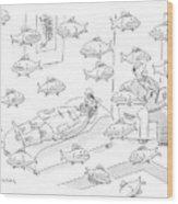 New Yorker May 5th, 2008 Wood Print