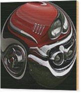 58 Chevy Wood Print
