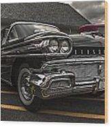 58 Oldsmobile Super 88 Wood Print