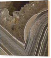 Agate Closeup Wood Print
