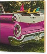 59 Ranchero With Surfboards Wood Print
