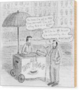 New Yorker May 28th, 2007 Wood Print