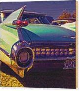 '59cadillac Fins Wood Print