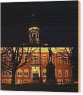 5am At Port Hope Town Hall Wood Print