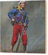 5th New York Veteran Volunteers - Duryee's Zouaves 1864 Wood Print