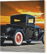 1932 Ford Pick Up Wood Print