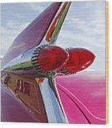 1959 Cadillac Eldorado Taillight Wood Print