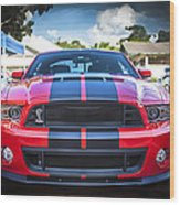 2013 Ford Shelby Mustang Gt500 Wood Print
