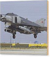 A Turkish Air Force F-4e-2020 Wood Print