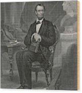 Abraham Lincoln (1809 - 1865) U Wood Print