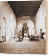 Abruzzo, Laquila, Paganica, Madonna Del Castello Wood Print