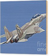An F-15i Raam Of The Israeli Air Force Wood Print