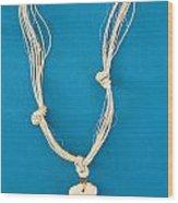 Aphrodite Anadyomene Necklace Wood Print by Augusta Stylianou