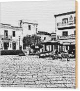 Arzachena Square Wood Print