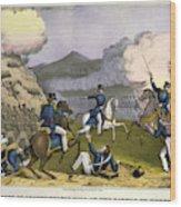 Battle Of Monterrey, 1846 Wood Print