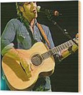 Billy Currington Wood Print