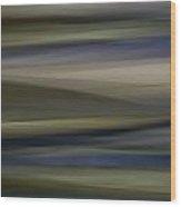 Blurscape Wood Print
